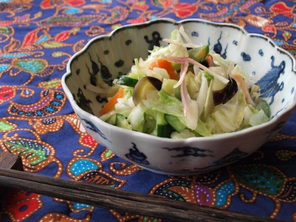 いろいろ野菜のアジアンピクルス
